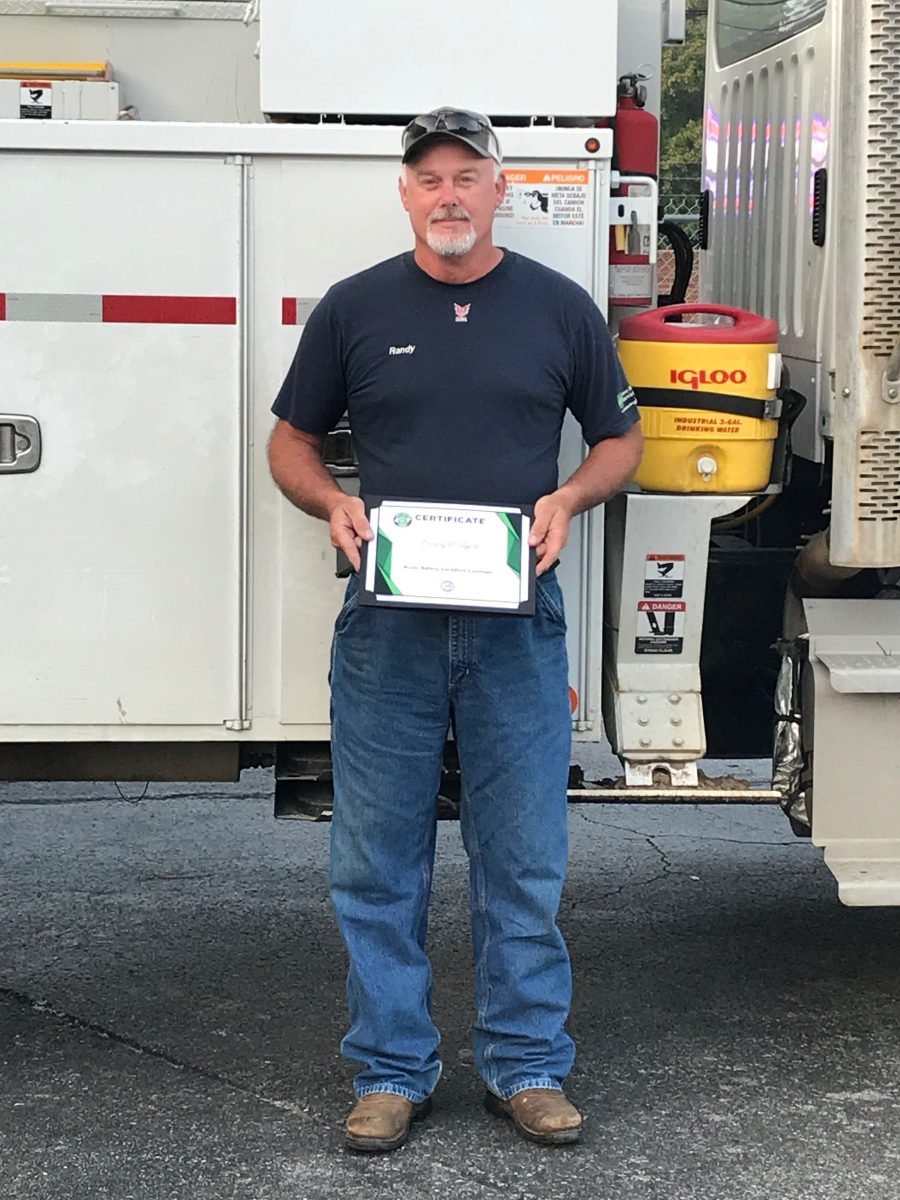2018 Basic SCL Recipient Randy Rodgers from Caney Fork Electric Cooperative