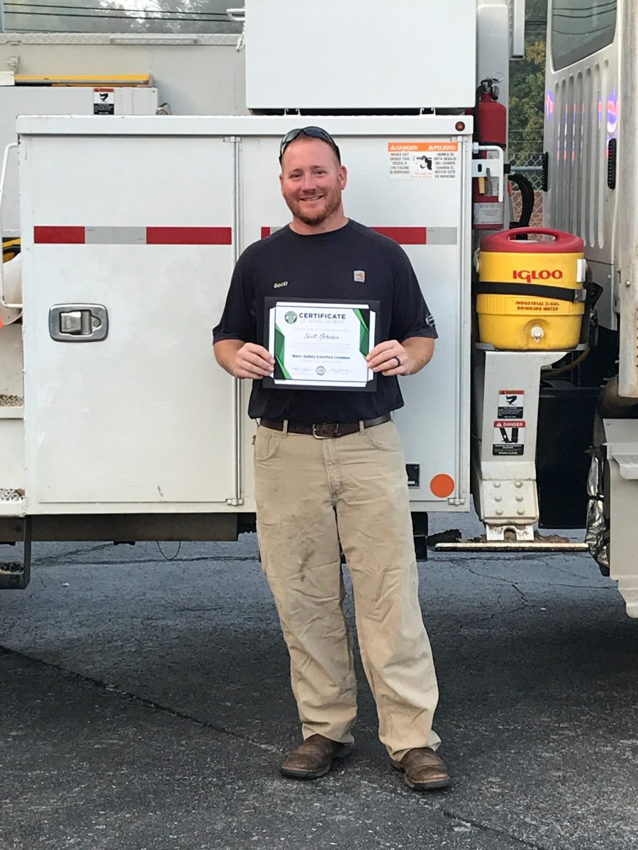 2018 Basic SCL Recipient Scott Johnson from Caney Fork Electric Cooperative